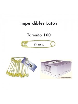 IMPERDIBLE 27mm 30155.100 (Caja 480 Udes)