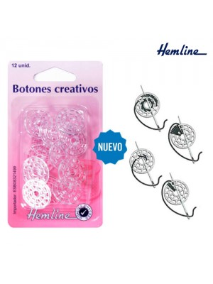 BOTON CREATIVO H889 (Blister 12 uds) 20mm